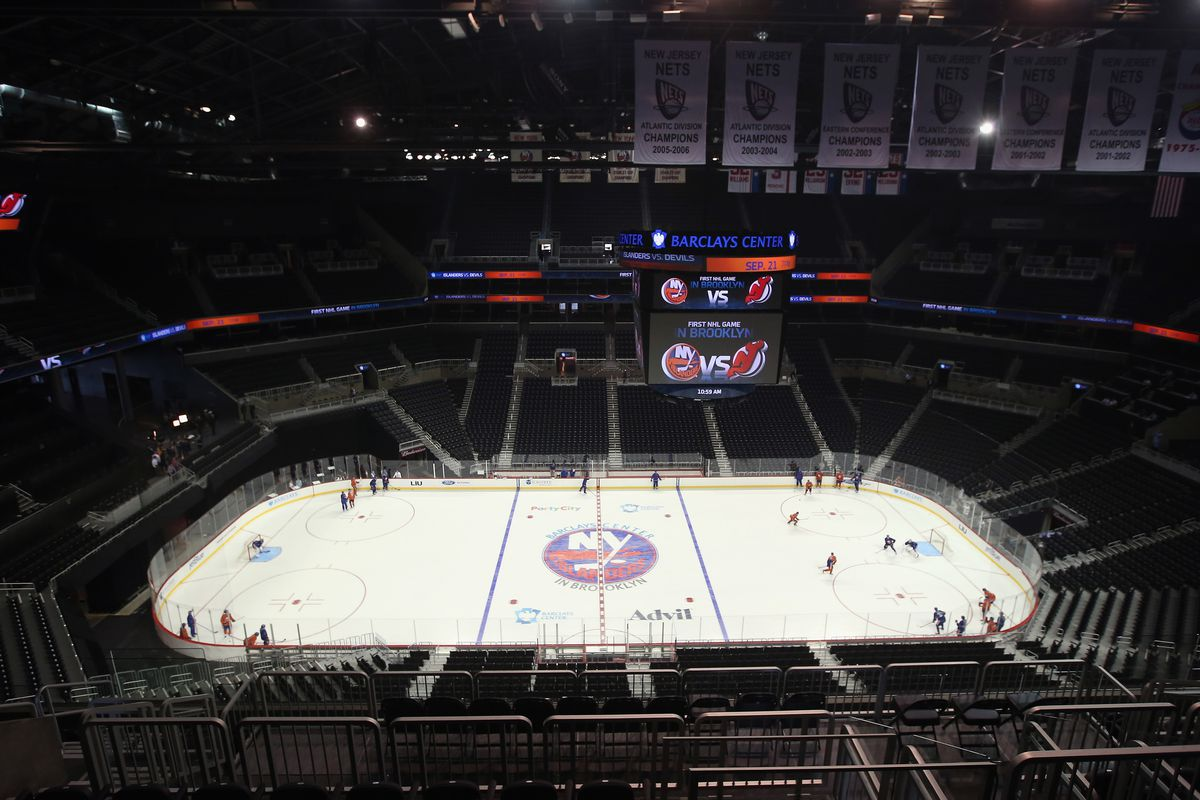 Tonight, Barclays Center will be filled with people...for hockey!