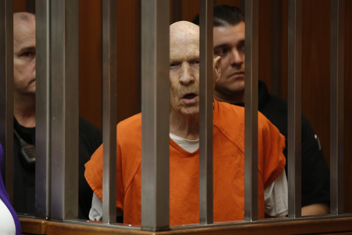 Joseph DeAngelo in March. He later pleaded guilty to several of the murders and other crimes attributed to the Golden State Killer.