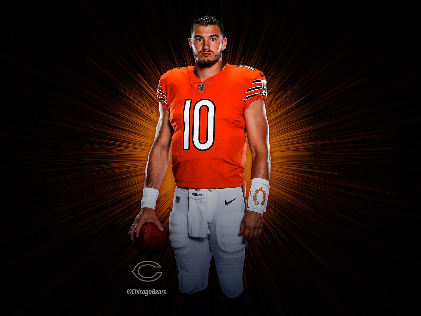 907a3006 Chicago Bears release new orange jerseys for 2018 season - Windy ...