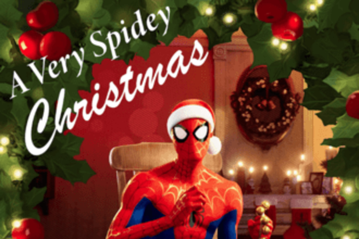 Spider Verse S Christmas Al Exists In Real Life