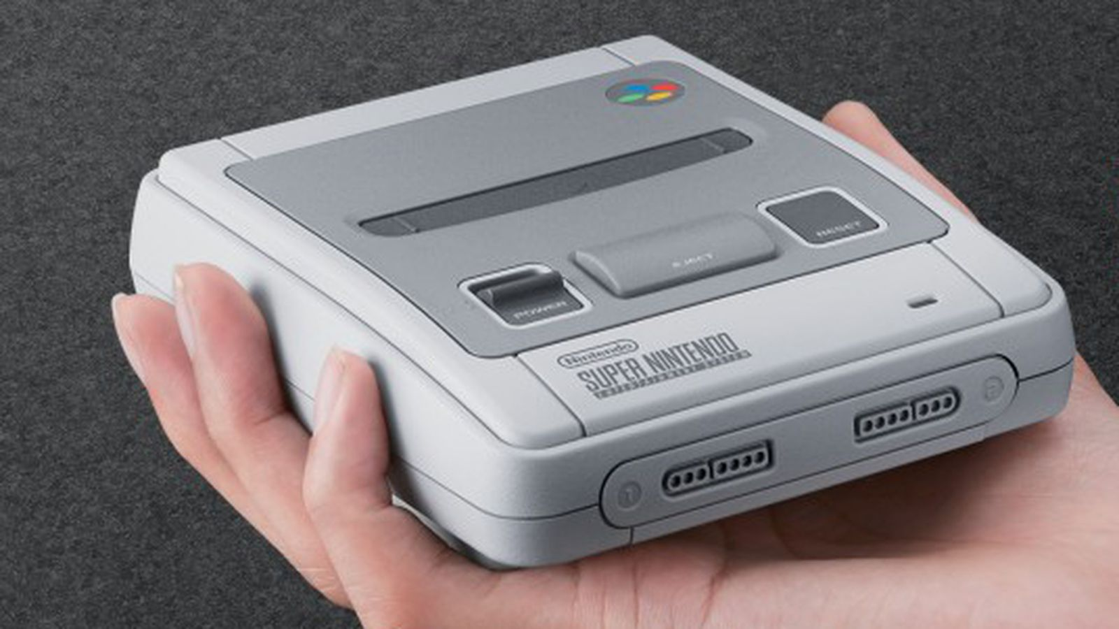 The European SNES Classic Edition is super cute