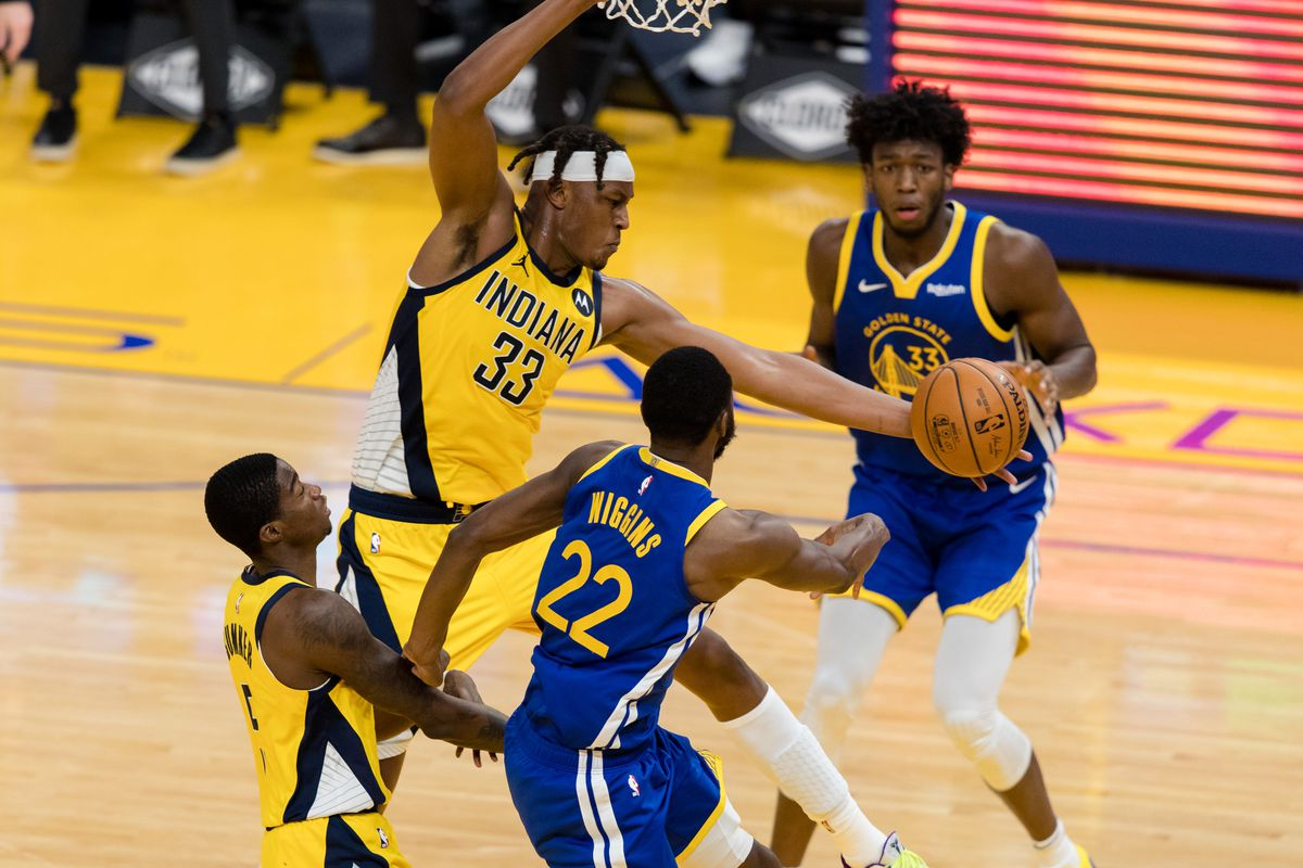 NBA: Indiana Pacers at Golden State Warriors