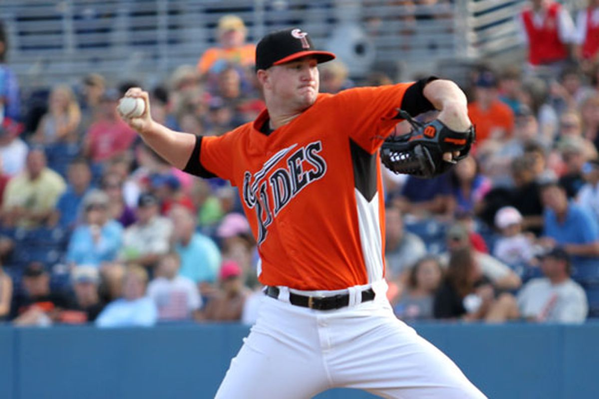 The Tides could have used Mike Wright on the mound in Game 5