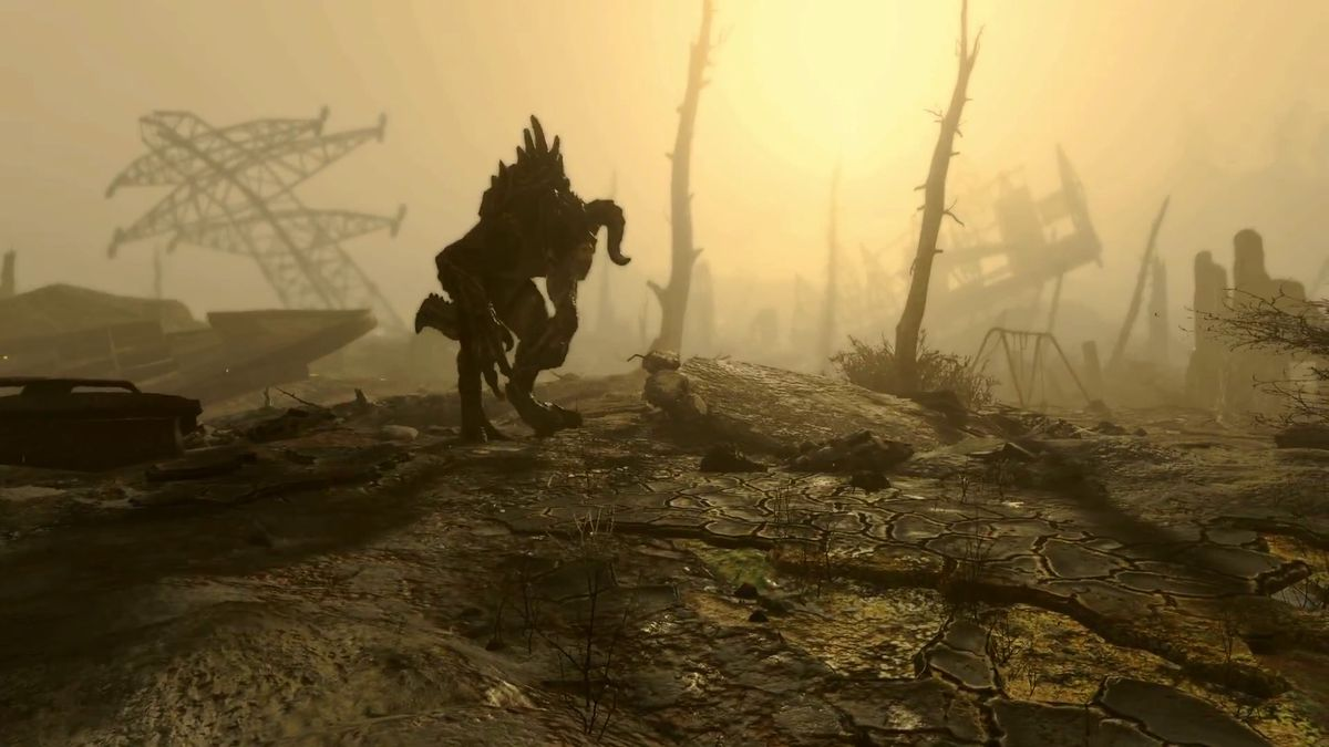 Fallout 4 - Deathclaw screencap 1920