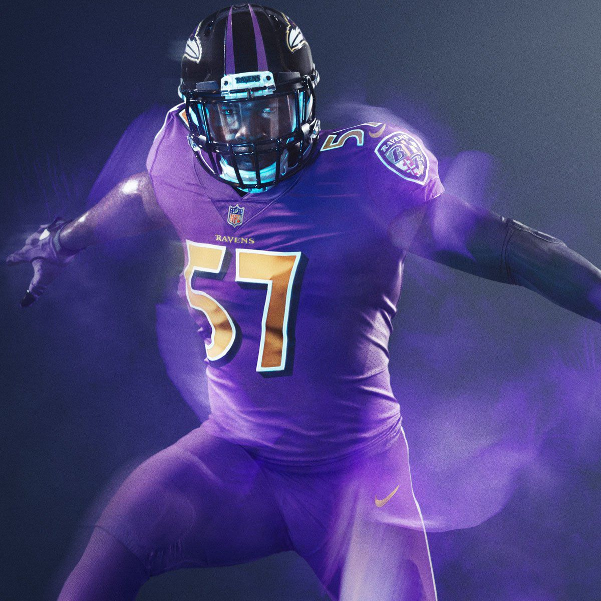 premium selection 5994a 303cc OFFICIAL: Ravens Color Rush jerseys announced, All AFC North ...