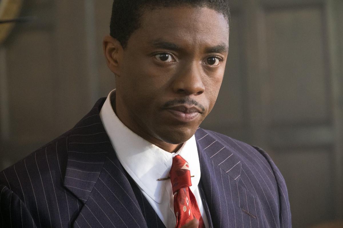 Chadwick Boseman in 'Marshall'