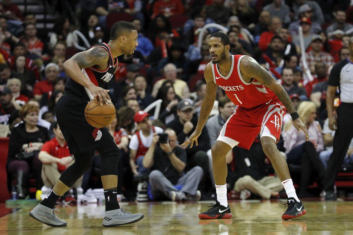 Portland Trail Blazers v Houston Rockets