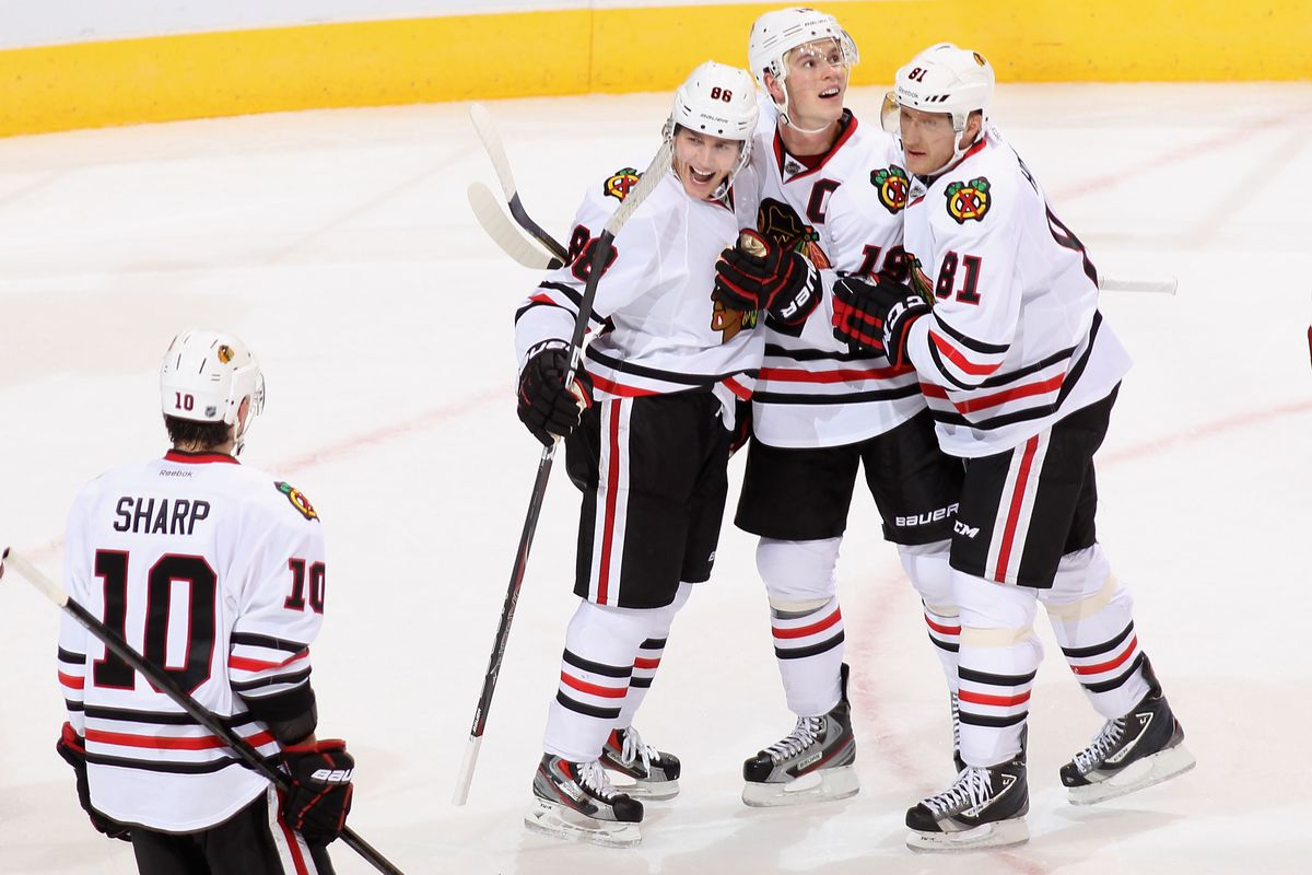 Coyotes want to see less of this than they have through the first 2 games against Chicago.