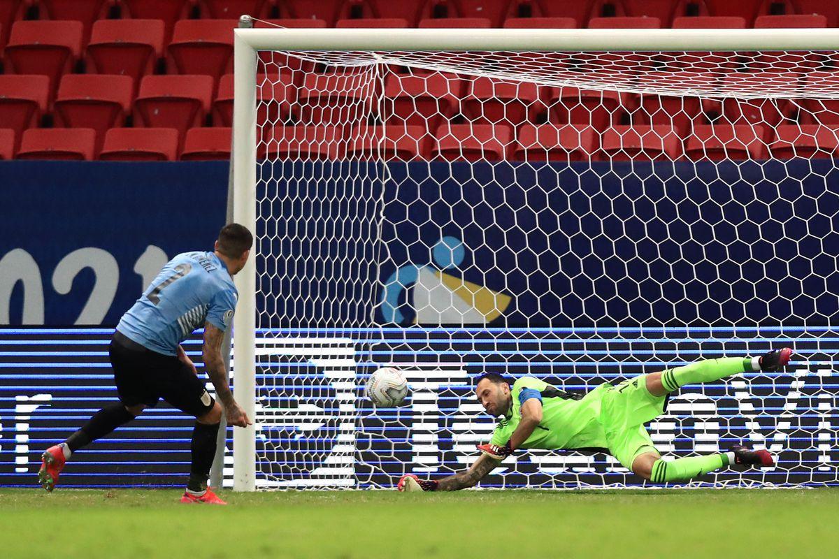 Uruguay v Colombia: Quarterfinal - Copa America Brazil 2021