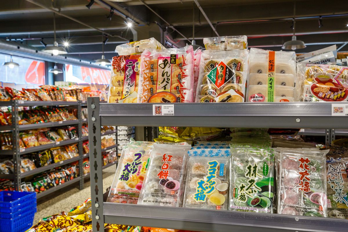 Sunrise Mart Japan Village's shelves are packed with specialty items