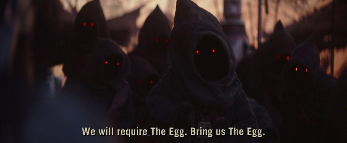 The Jawas want the Mandalorian to fetch The Egg