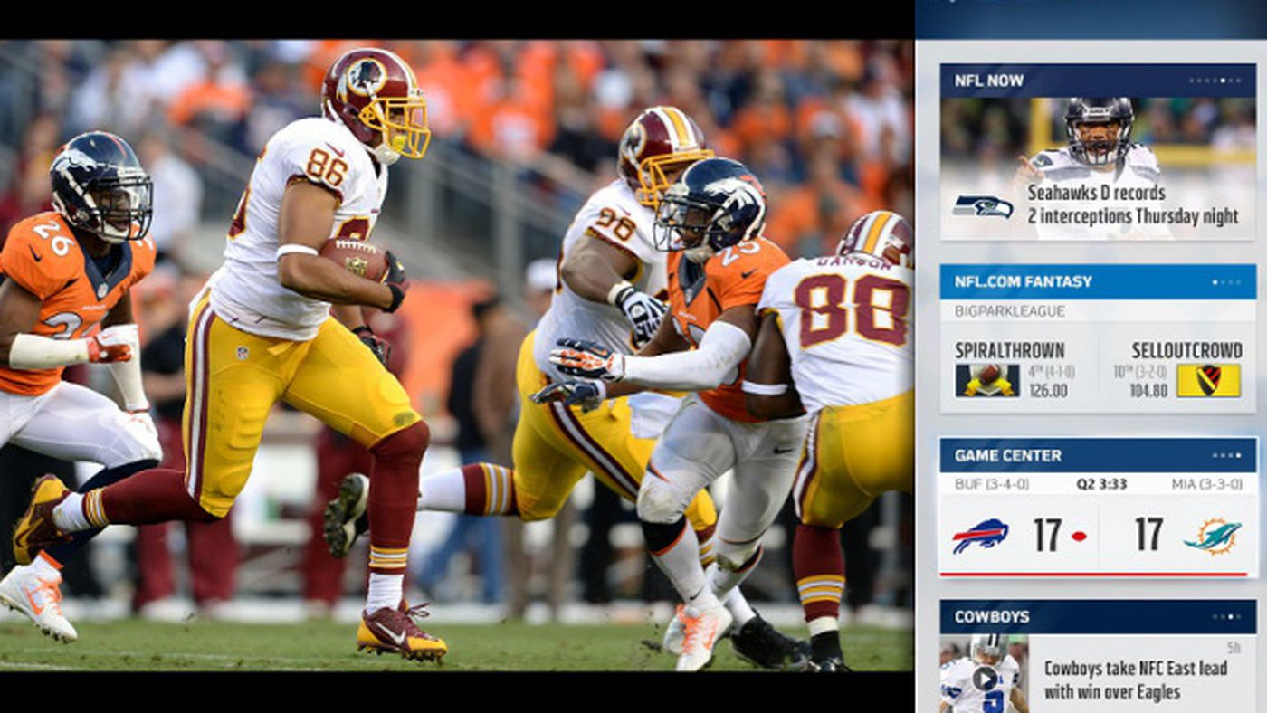 New Nfl App Brings Sunday Ticket Detailed Fantasy Football Tracking To Xbox One The Verge