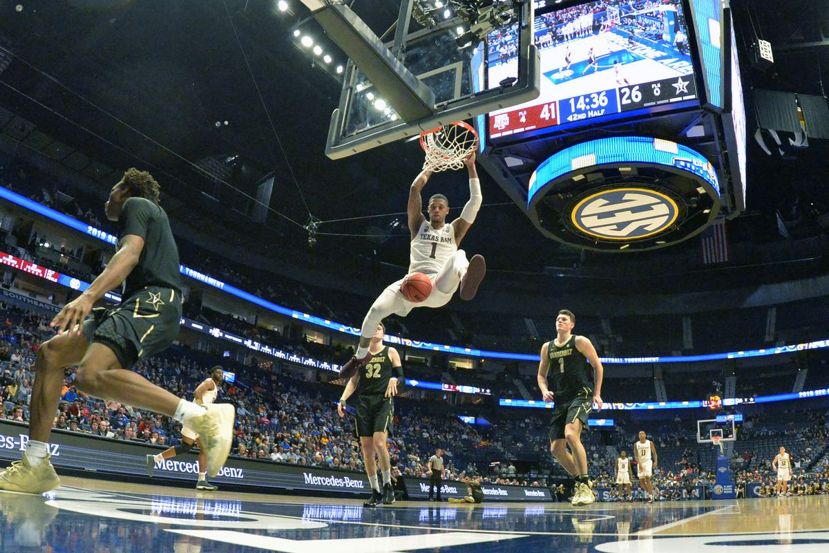 NCAA Basketball: SEC Conference Tournament-Texas A&M vs Vanderbilt