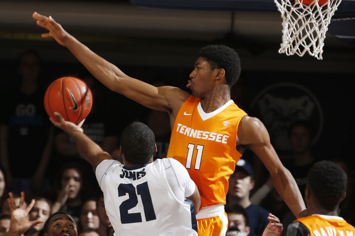 If you had the Vols as a great shot blocking team coming into the year, you're a liar.