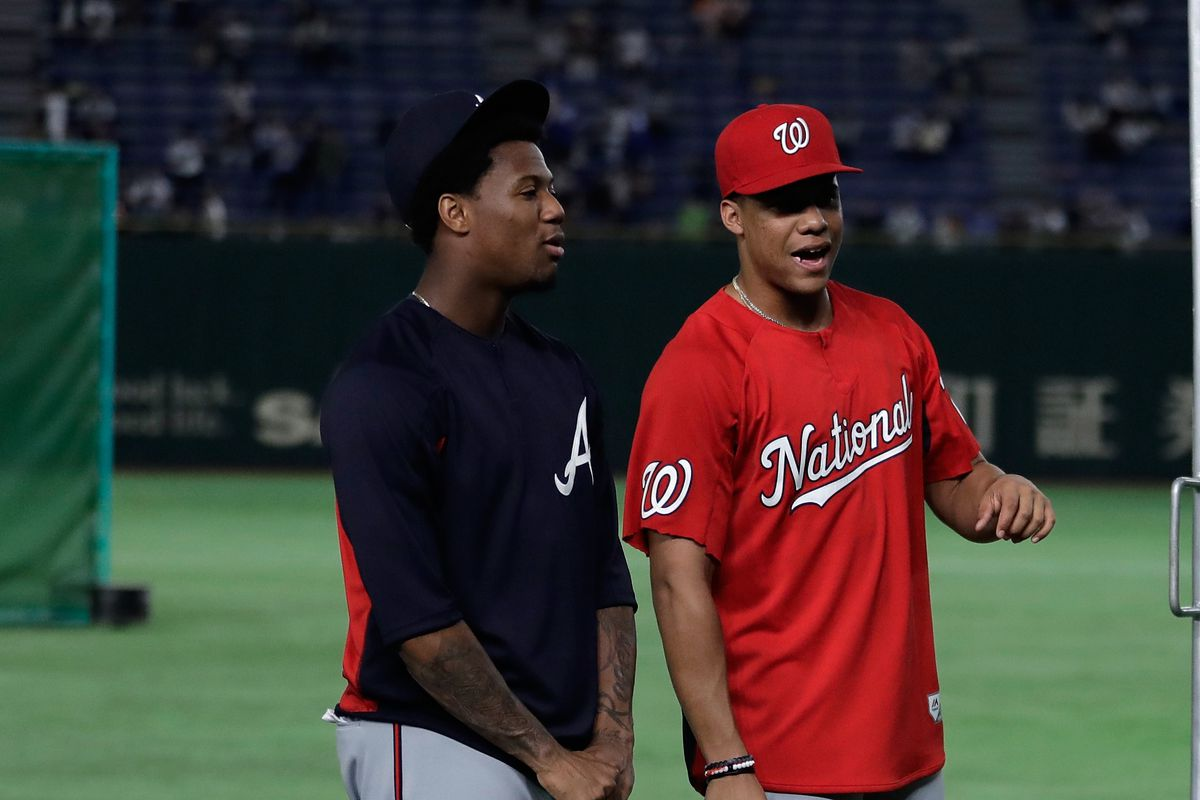 139409743cc NL Rookie of the Year 2018  Juan Soto and Ronald Acuña