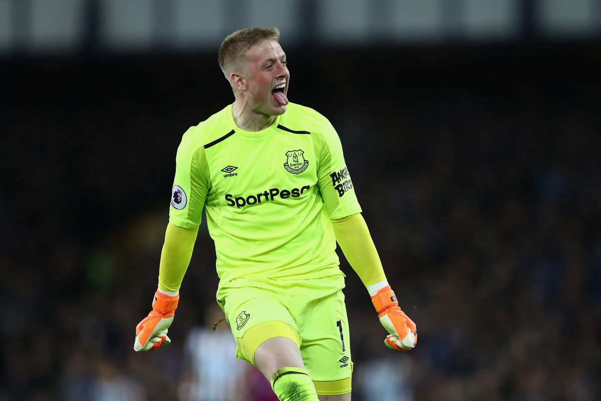 What is Jordan Pickford's net worth?