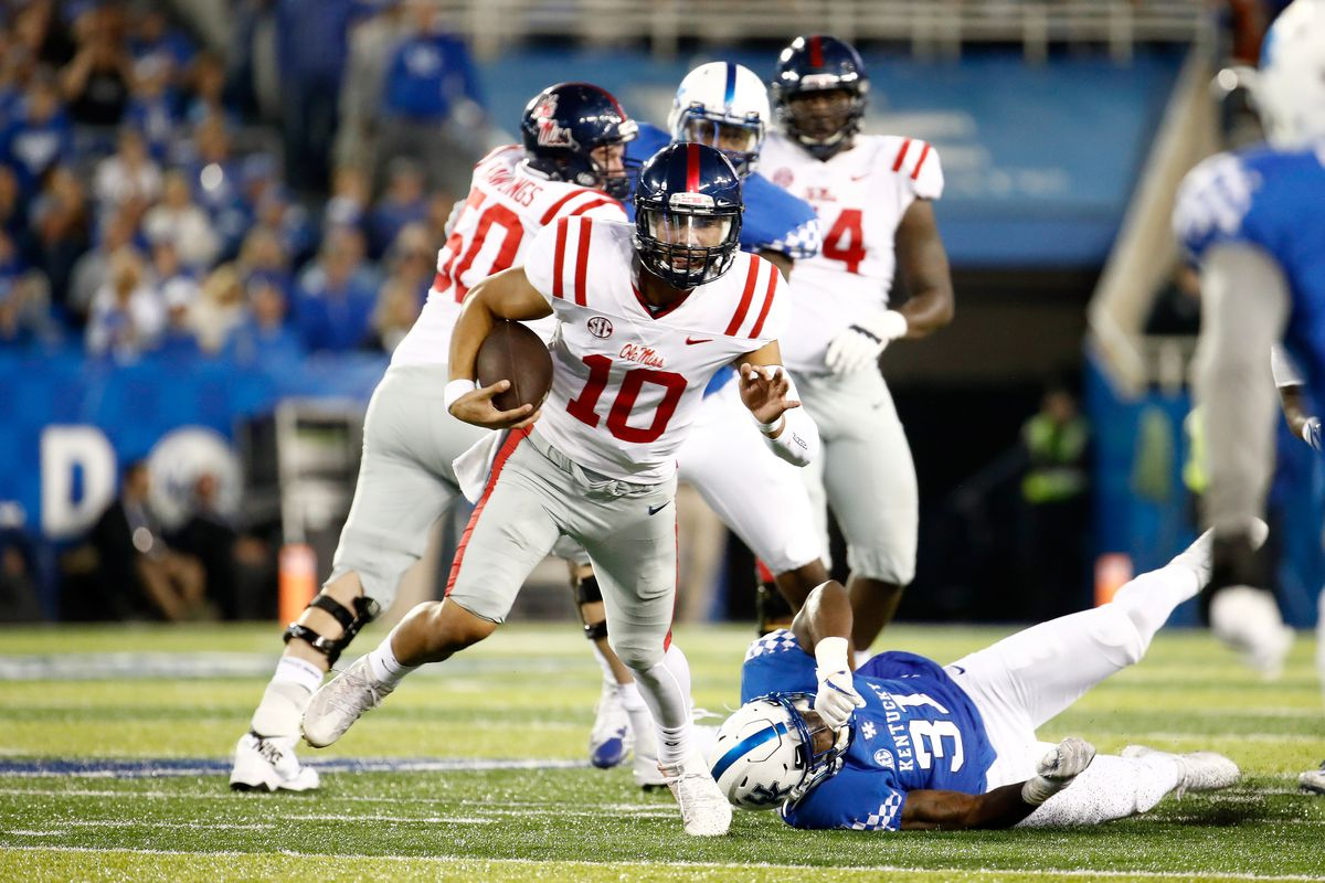 Ole Miss opens as 3-point favorites over Texas A&M