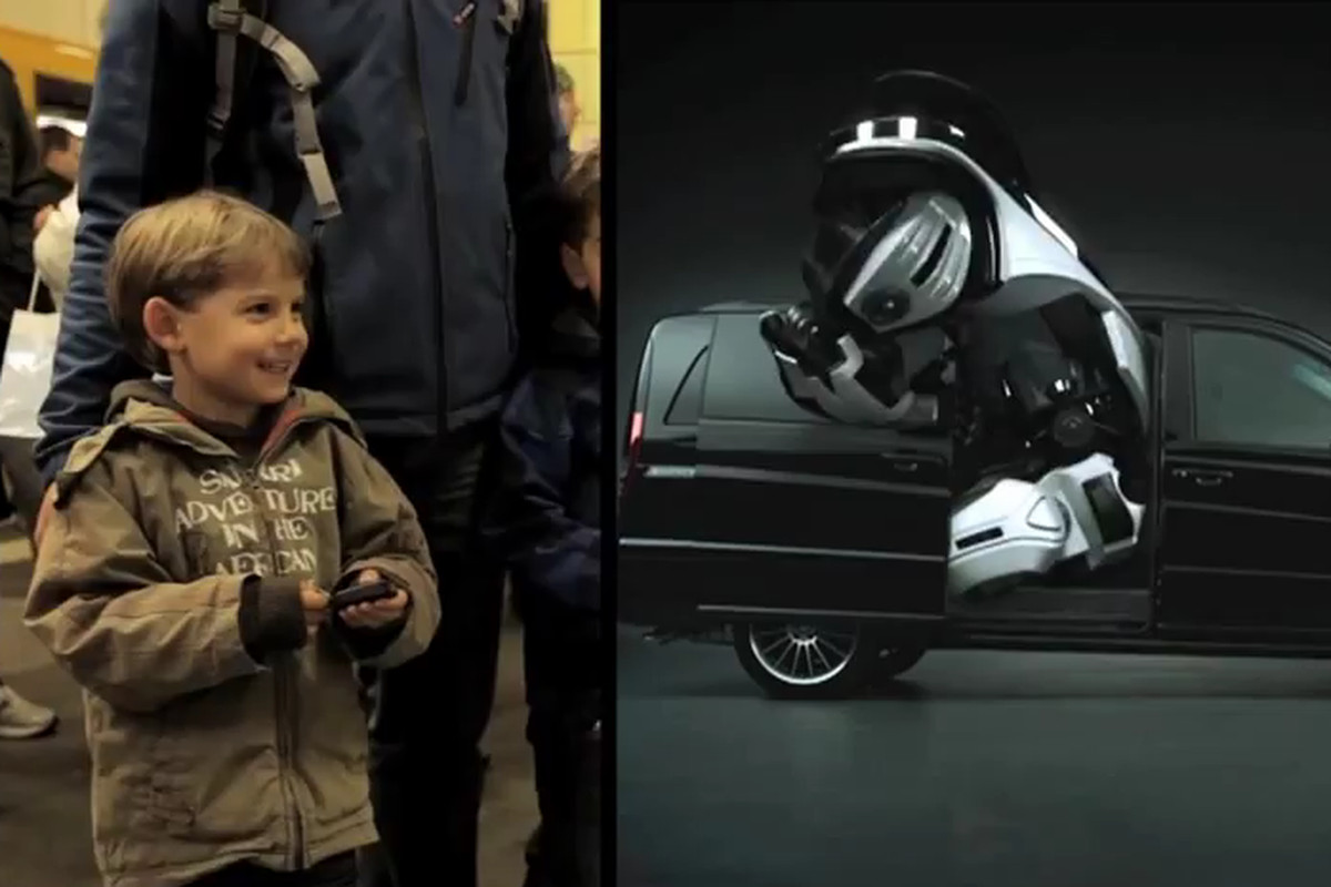 Mercedes Car Key Ad