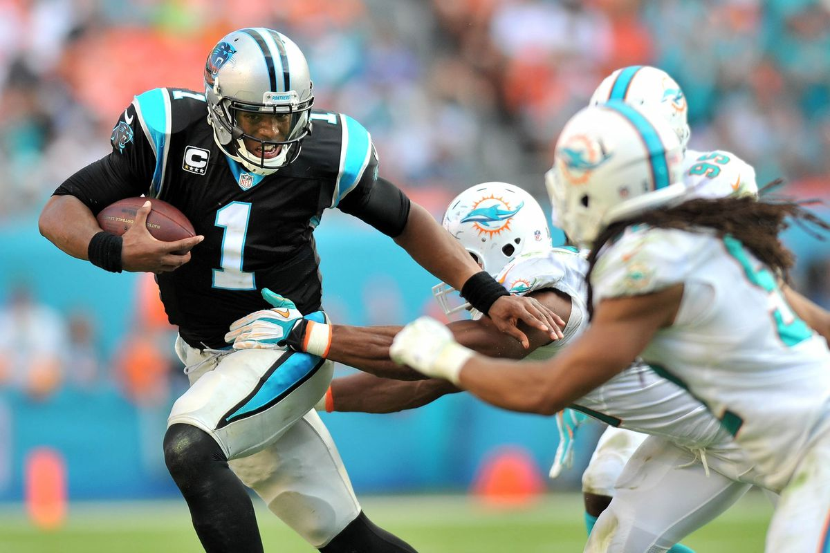 Saints should expect a heavy dose of rushes from Cam Newton