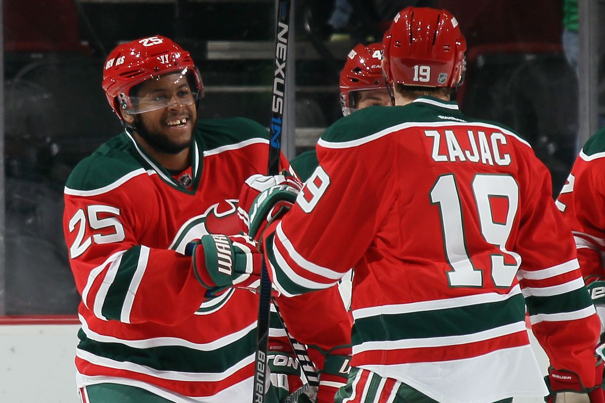 New Jersey Devils  Goal Explosion Blew Up Minnesota Wild 071f886df