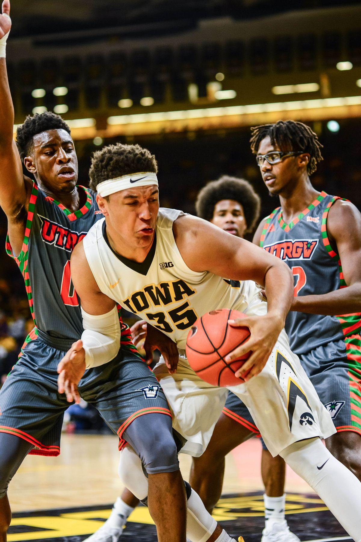 NCAA Basketball: Texas-Pan American at Iowa