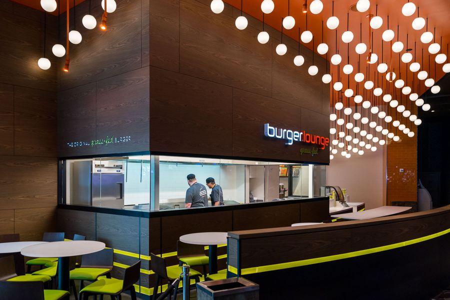 your first look inside burger lounge at aria eater vegas. Black Bedroom Furniture Sets. Home Design Ideas