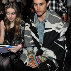 2011: Wearing a sort-of-crazy poncho with definitely-crazy gloves at the G-Star fall show.