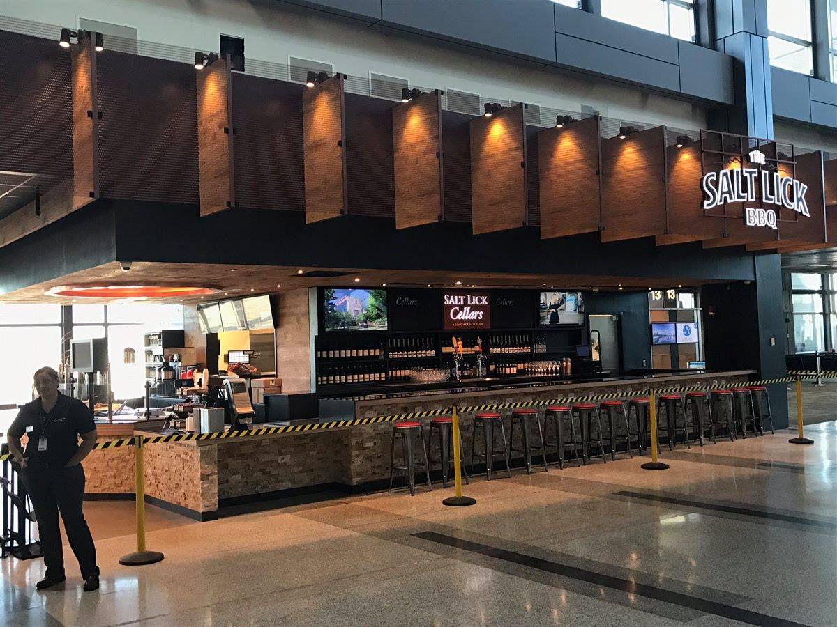 Salt Lick's new airport location