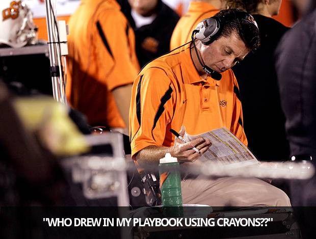 Mike Gundy, Offensive Coordinator