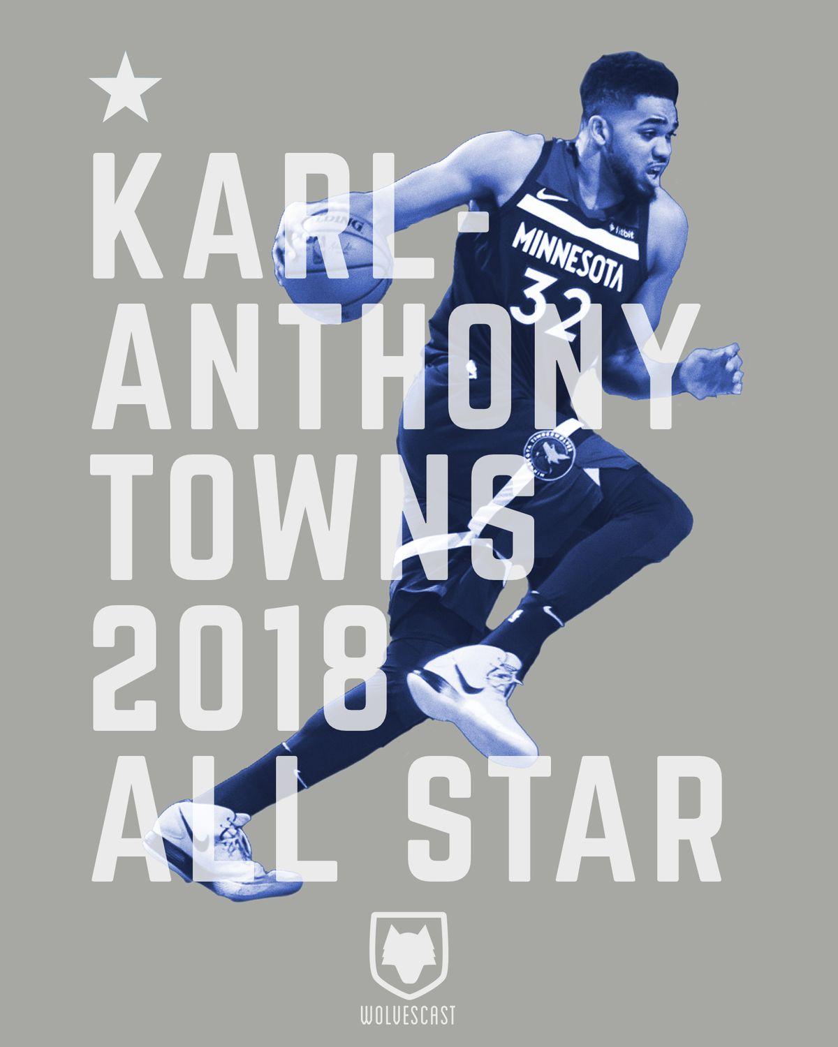 Karl-Anthony Towns 2018 All Star