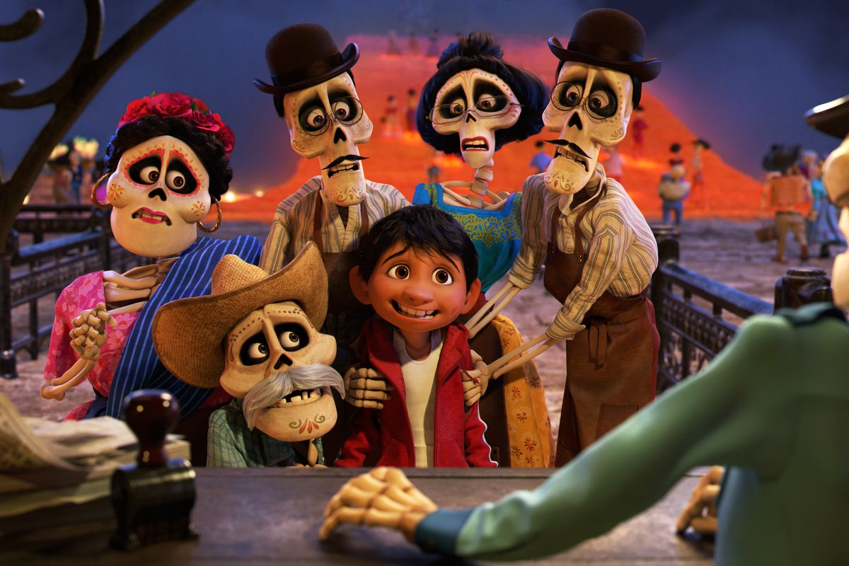From Pixar's Coco (2017)
