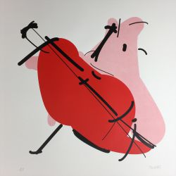 A cello
