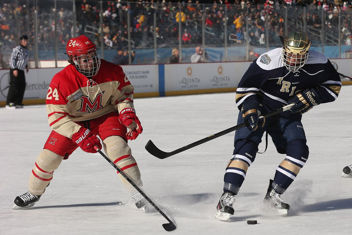 Miami holds steady at #3 in both the USCHO and USA Hockey/USA Today college hockey polls
