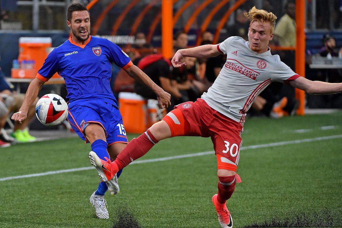 MLS: U.S. Open Cup-Atlanta United FC at Miami FC