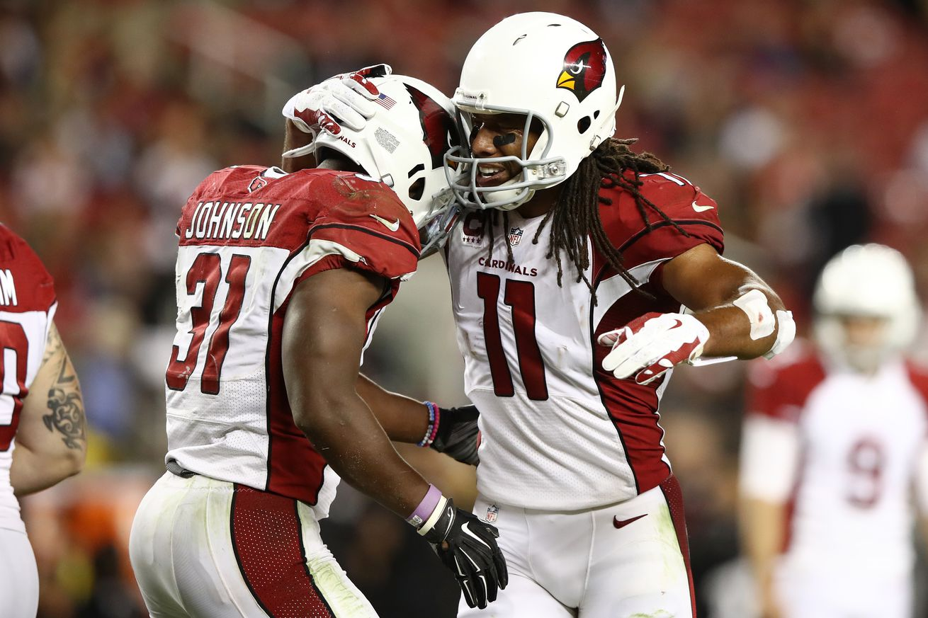 Bird Droppings: Arizona Cardinals David Johnson ready to return, hopes to have Fitzgerald with him