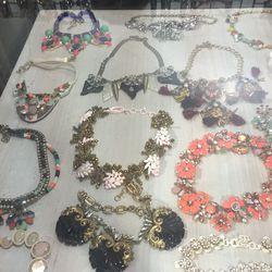 Necklaces, $42