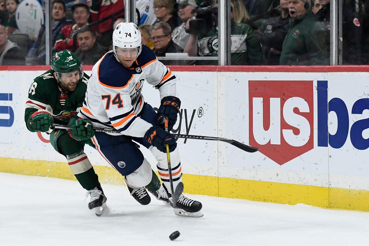 Edmonton Oilers v Minnesota Wild