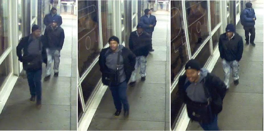 Surveillance images of the suspects in a robbery at the Garfield Red Line station. | Chicago Police