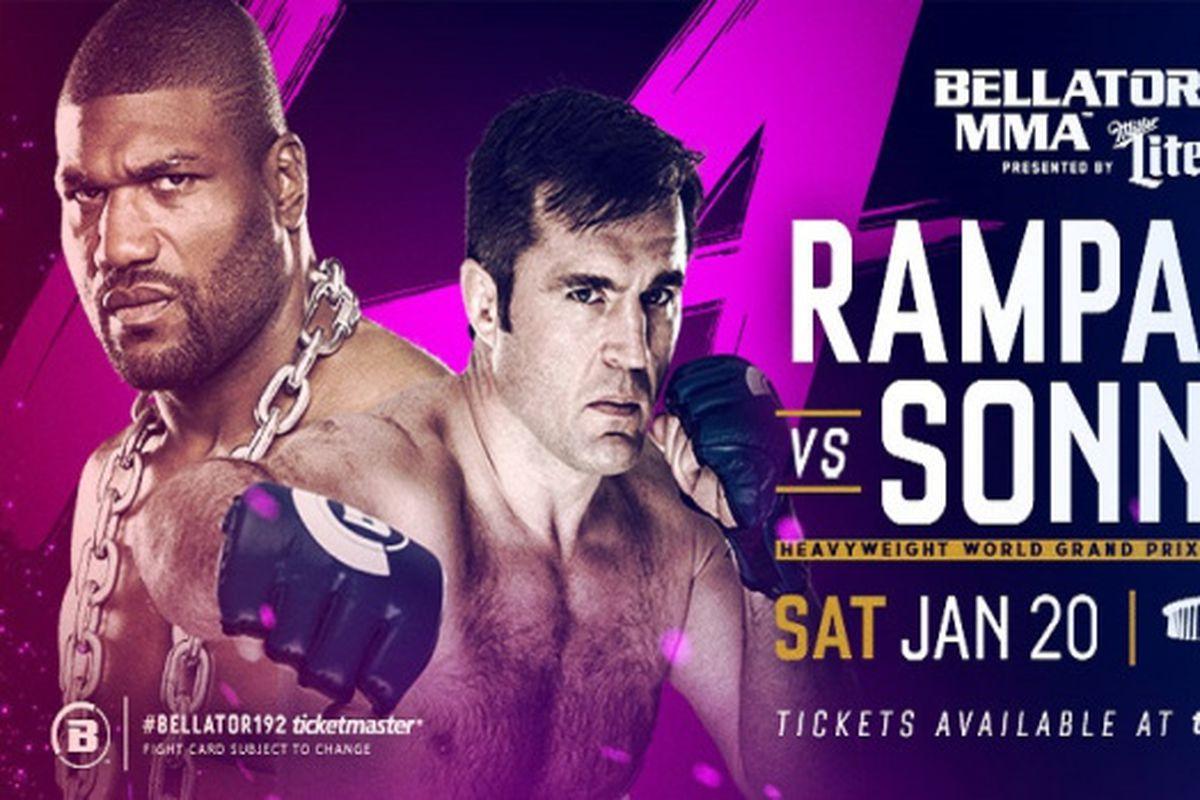 Rampage vs Sonnen