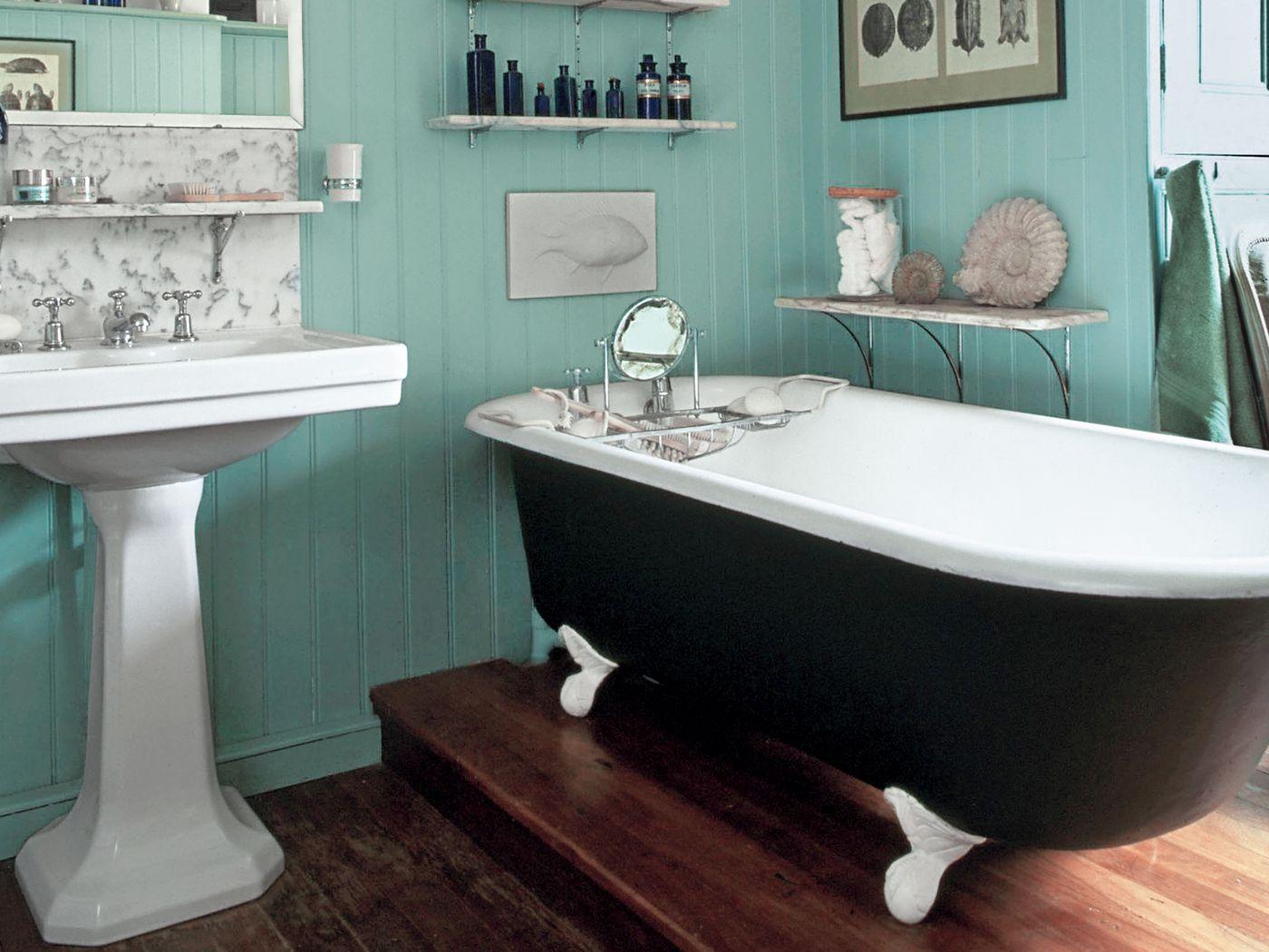 Our Favorite Blue Bathrooms