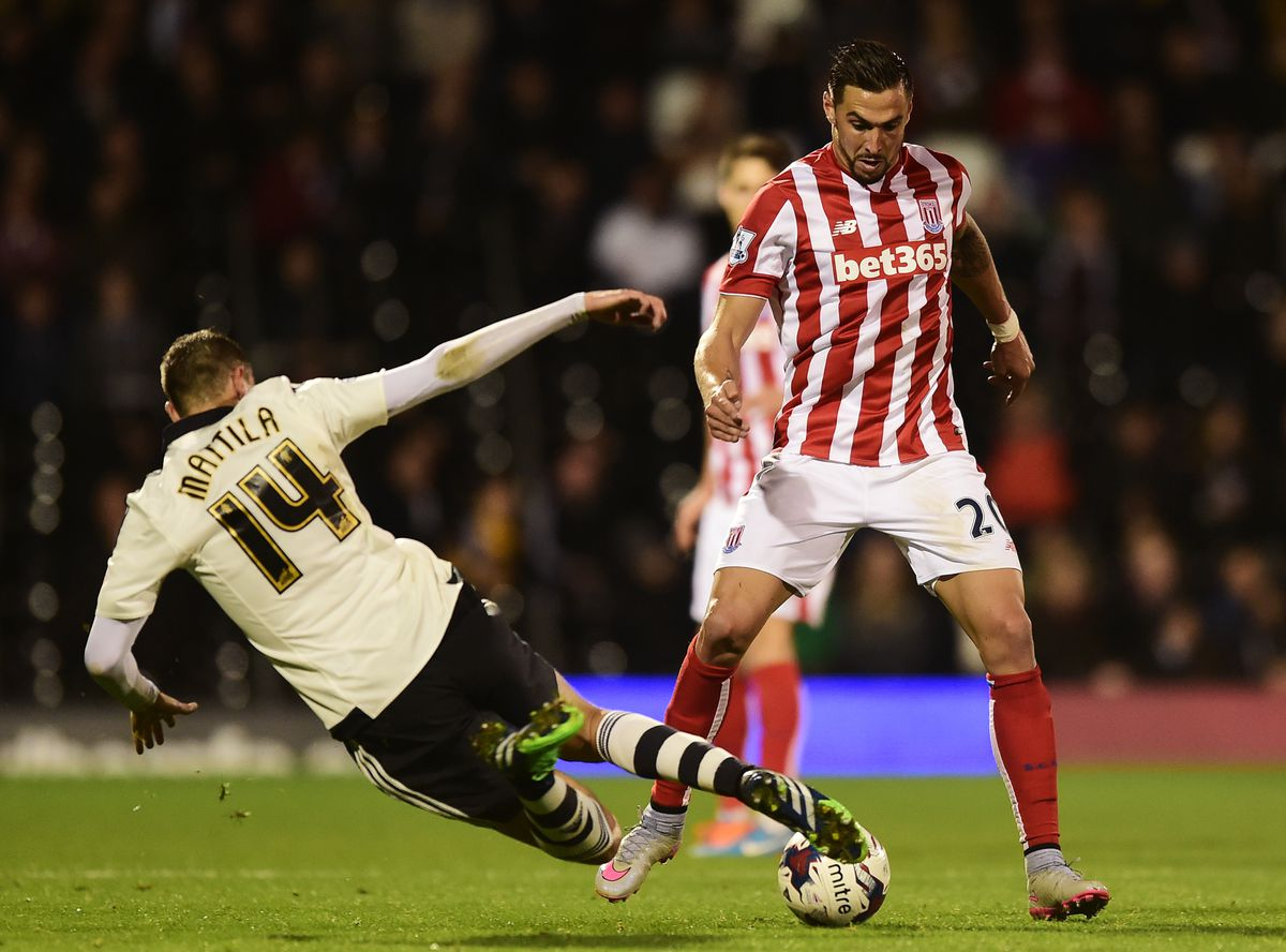 Fulham v Stoke City - Capital One Cup Third Round