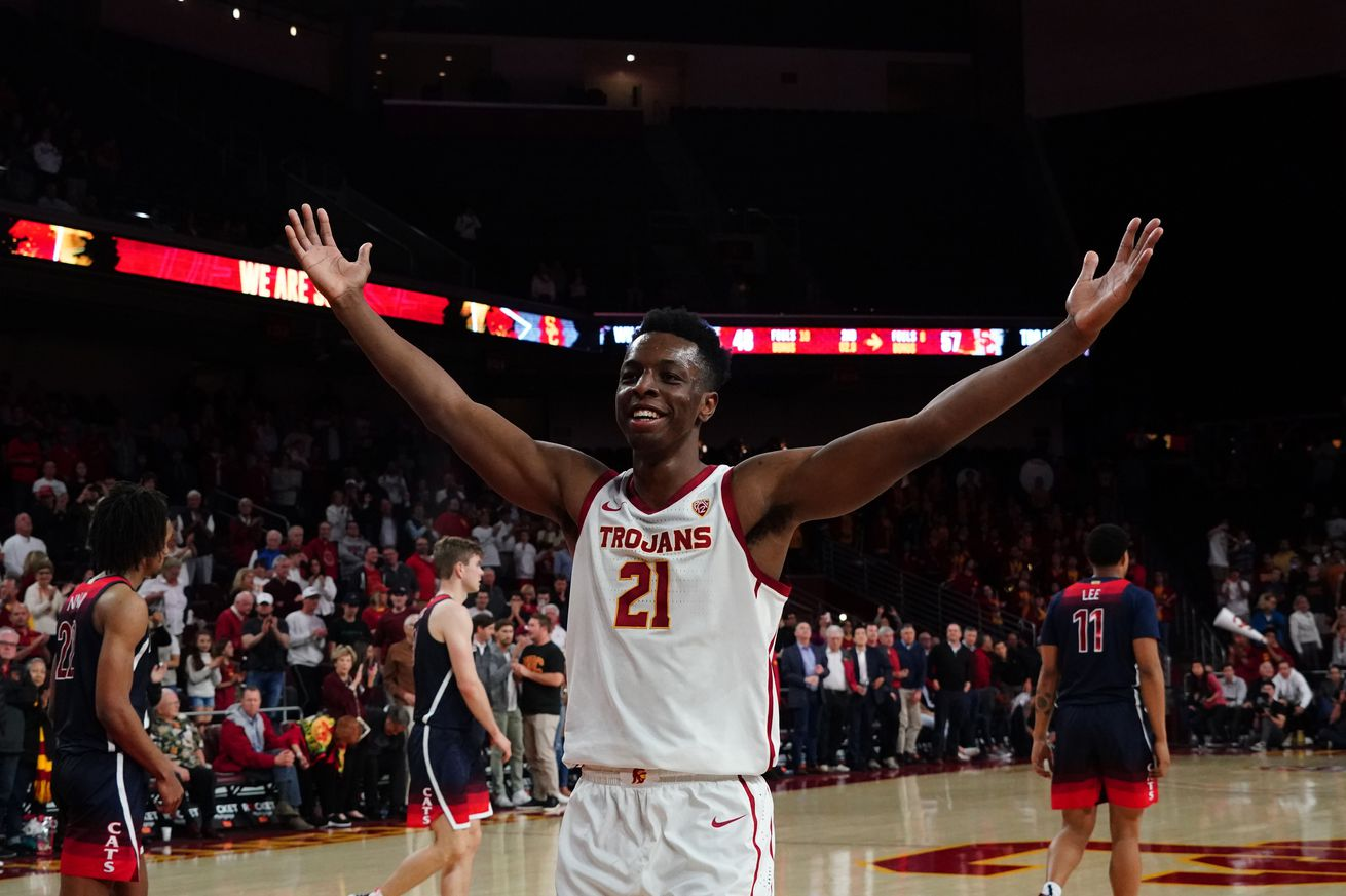 NCAA Basketball: Arizona at Southern California