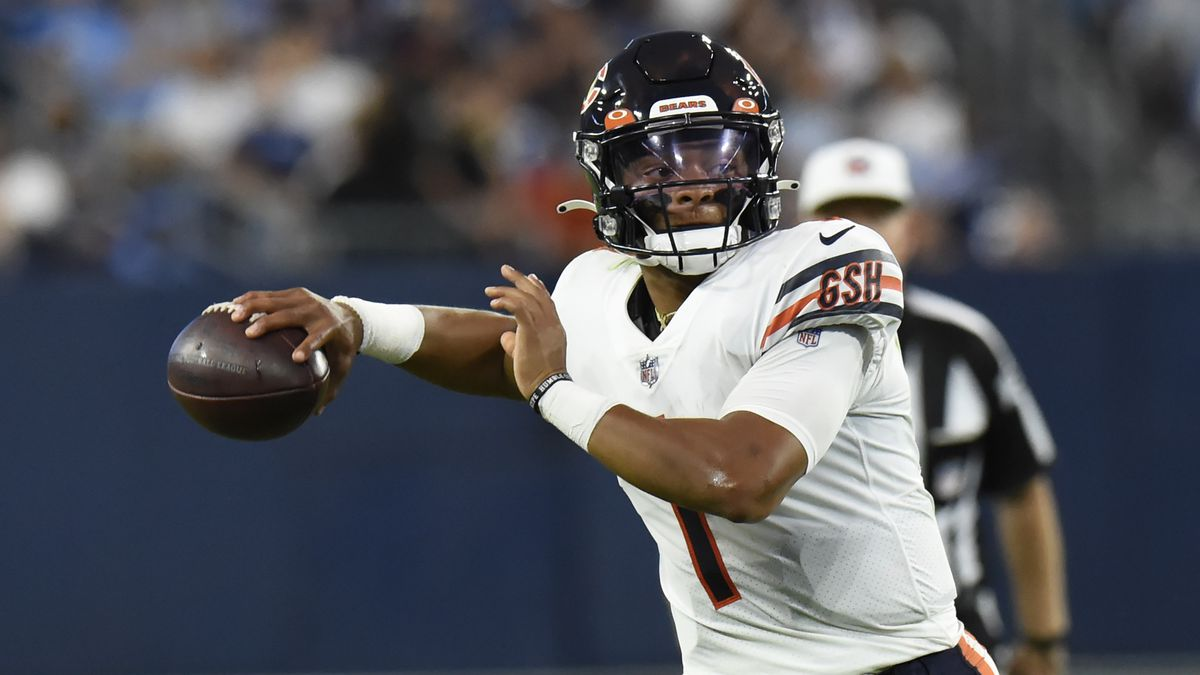 Justin Fields is the latest quarterback in the Bears' search for a franchise player.