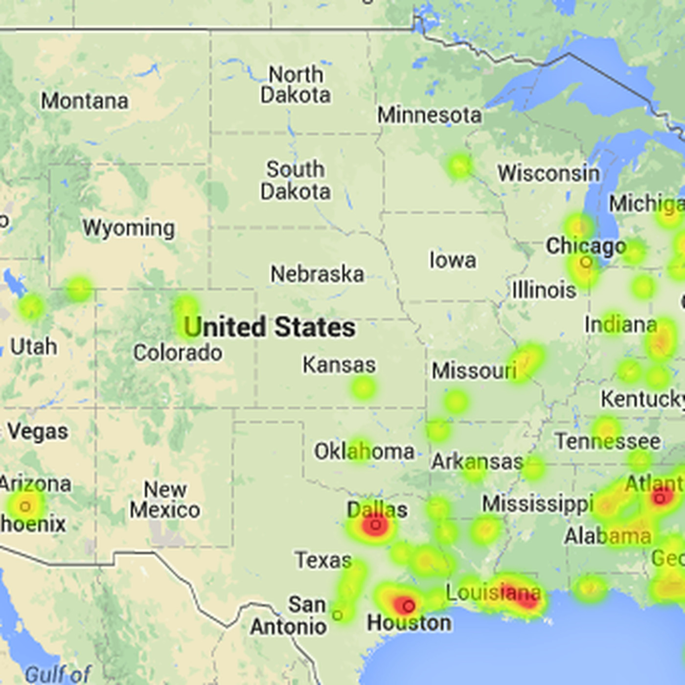 Map Of Texas 2014.These 10 Maps And Charts Show Where College Football Players Come