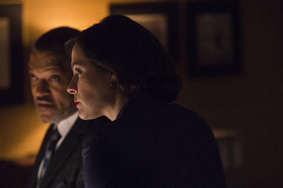 Jack and Alana on Hannibal.