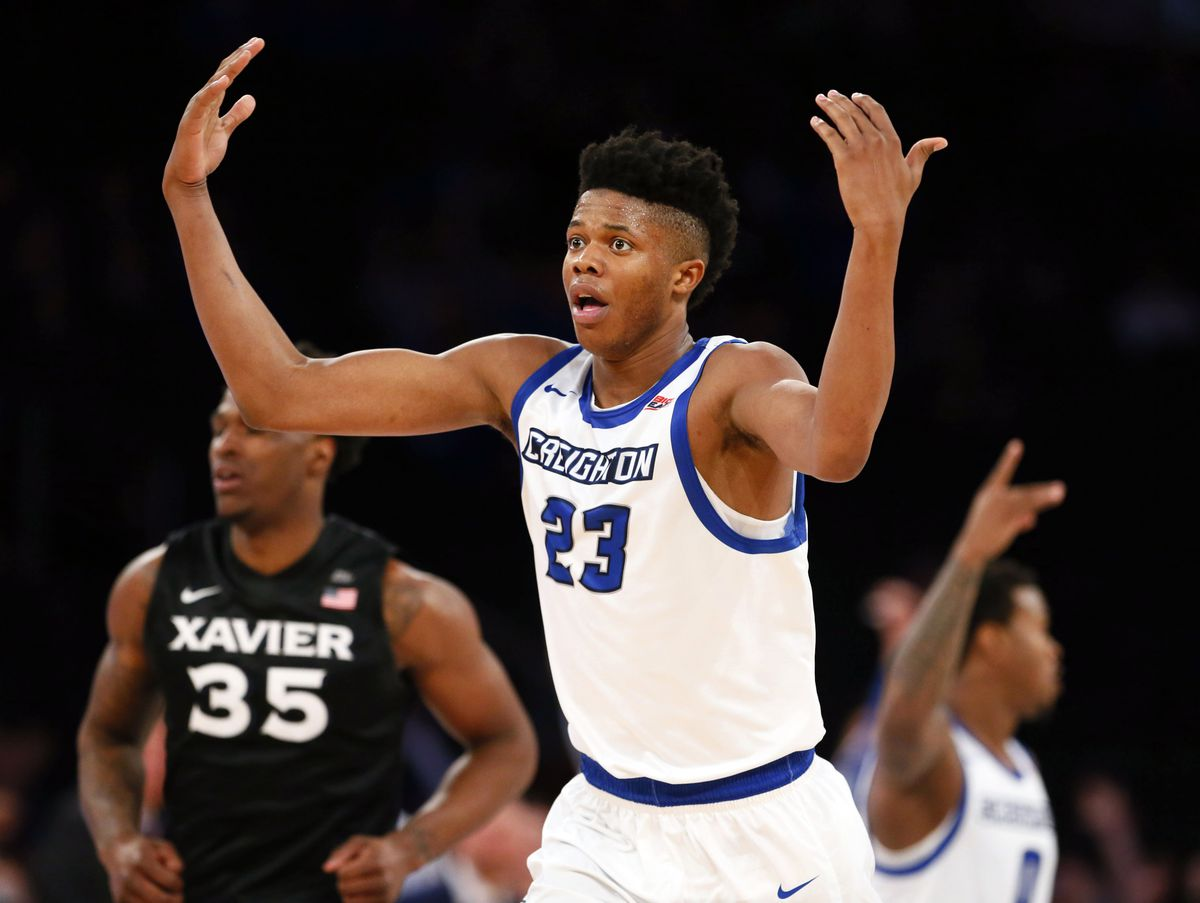 The Toronto Raptors select Justin Patton from Creighton with the No. 23 overall pick in the Blazer's Edge 2017 NBA Mock Draft.