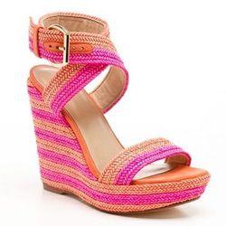 """<a href=""""http://www.stuartweitzman.com/womens-shoes/wedge-shoes/?F_All=Y""""> Stuart Weitzman Encore wedge espadrille sandal</a>, $398 stuartweitzman.com"""