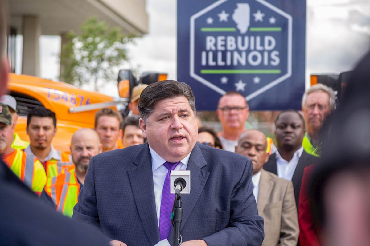 Gov. J.B. Pritzker releases details of $23.5B Rebuild Illinois road construction plan, touted as 'investing o…