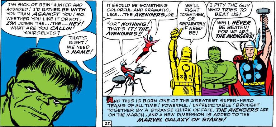 Avengers no.1 (Marvel)