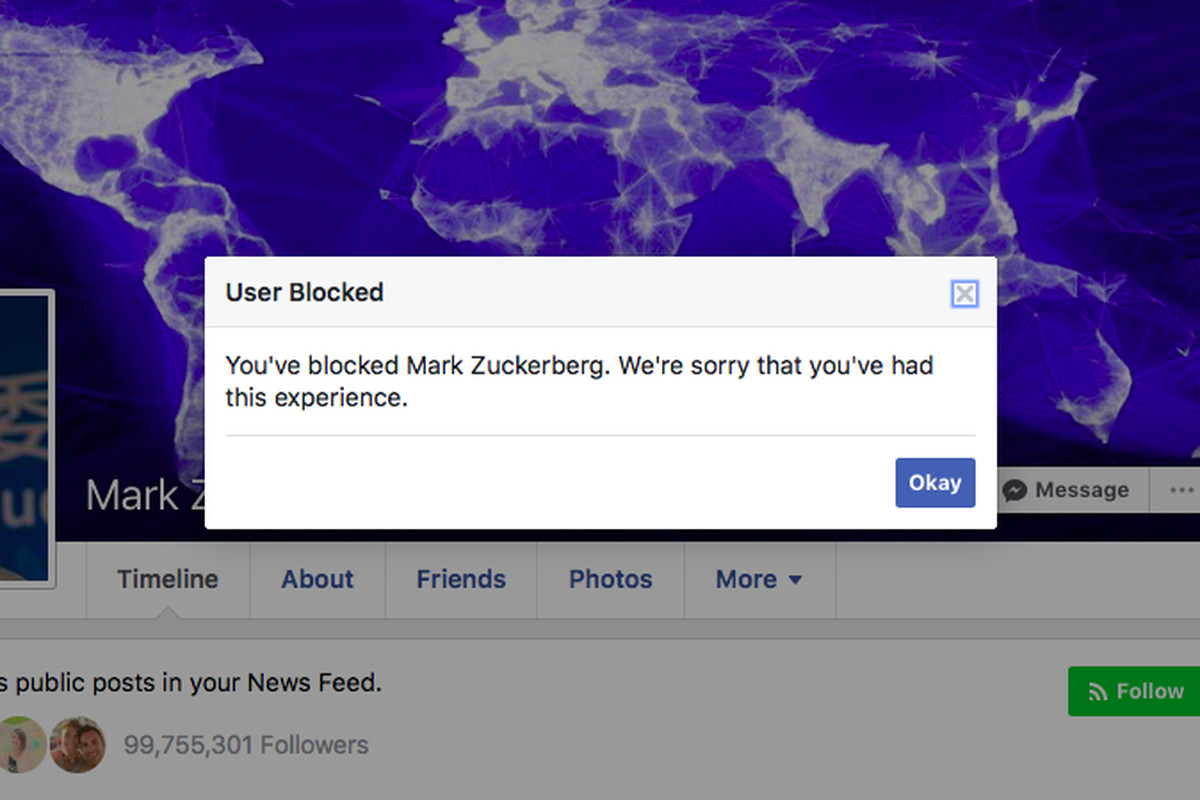 Facebook quietly fixed an error that prevented you from